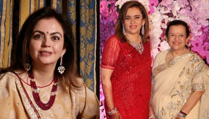 नीता अंबानी की खूबसूरती के पीछे छुपा है ये राज, मां पूर्णिमा व बहन ममता से है कनेक्शन