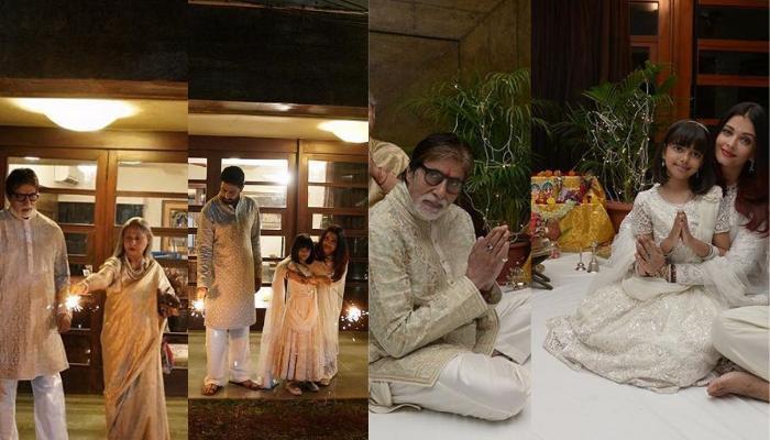 बिग बी के घर पिछले साल दिवाली पार्टी में लगा था बॉलीवुड का जमावड़ा, देखें सेलिब्रेशन की तस्वीरें