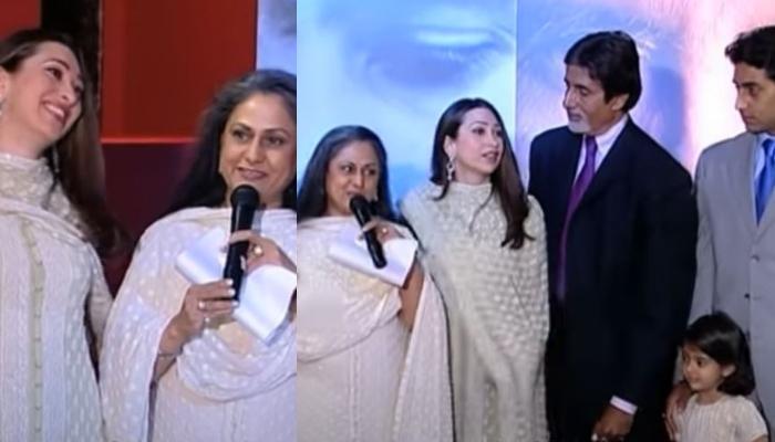 जब जया बच्चन ने पब्लिकली करिश्मा कपूर को पुकारा था 'बहू', वीडियो में शर्माती नजर आईं एक्ट्रेस