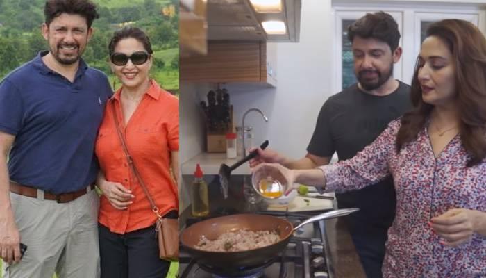 माधुरी दीक्षित के 'पतिदेव' श्रीराम नेने ने एक्ट्रेस के लिए बनाया कांदा पोहा, देखें वीडियो
