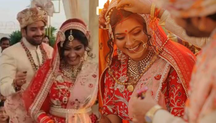 'सुहानी सी एक लड़की' फेम एक्ट्रेस राजश्री रानी ने ऑनस्क्रीन भाई संग रचाई शादी, देखें वेडिंग फोटोज