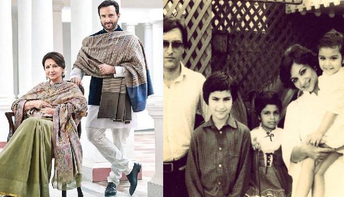 जब शार्मिला टैगोर नही दे पाती थीं बेटे को समय, तब सैफ अली खान की 'दूसरी मां' ने की थी उनकी देखभाल