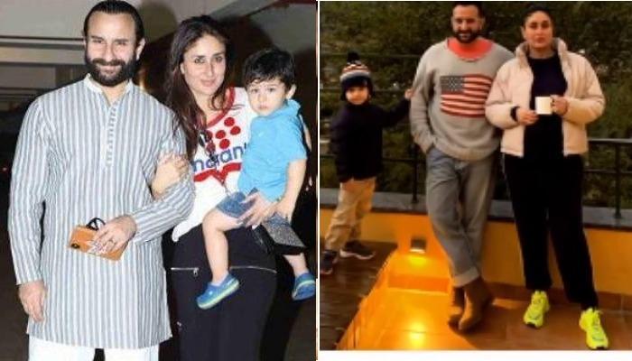 एक जैसे स्वेटर में दिखे पापा सैफ और उनके लाडले तैमूर, करीना ने शेयर की फोटो