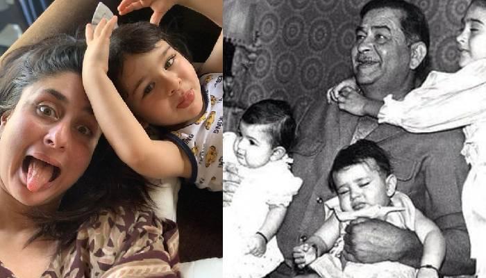 बचपन में बेटे तैमूर अली खान की कार्बन कॉपी थीं करीना कपूर, ये अनदेखी तस्वीर है सबूत