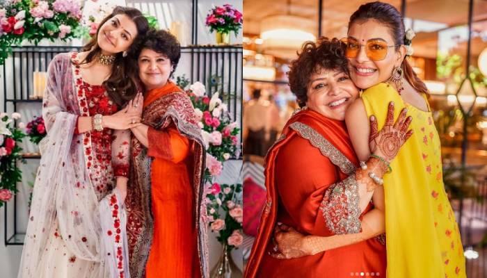 काजल अग्रवाल ने अपनी मां के बर्थडे पर शेयर की शादी की अनदेखी तस्वीरें, लिखी दिल छू लेने वाली बात