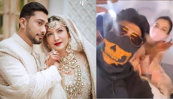 शादी के बाद एक्स BF कुशाल टंडन से अचानक मिलीं गौहर खान, एक्टर ने वीडियो शेयर कर कहा- 'हाय किस्मत'