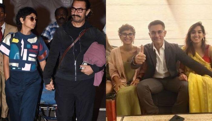 आमिर खान अपनी 15वीं वेडिंग एनिवर्सरी मनाने फैमिली संग पहुंचे गुजरात के गिर नेशनल पार्क, देखें वीडियो