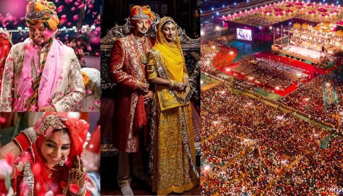 मोहिना कुमारी सिंह की 'राजशाही' शादी की अनदेखी तस्वीरें आईं सामने, एक्ट्रेस को याद आई अपनी वेडिंग