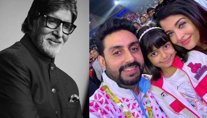 अमिताभ बच्चन ने पोती आराध्या संग गाया गाना, बेटे अभिषेक व बहू ऐश्वर्या भी स्टूडियो में आए नजर