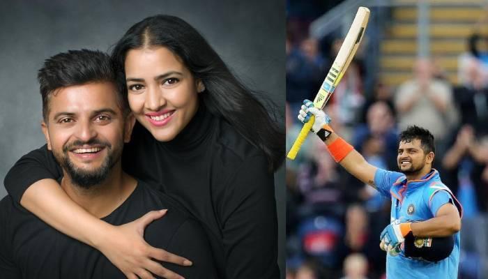 सुरेश रैना के सन्यास लेने पर पत्नी प्रियंका ने शेयर किया इमोशनल पोस्ट