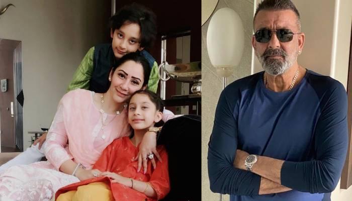 बच्चों से मिलने दुबई पहुंचे संजय दत्त, पत्नी मान्यता दत्त ने शेयर की फैमिली फोटो