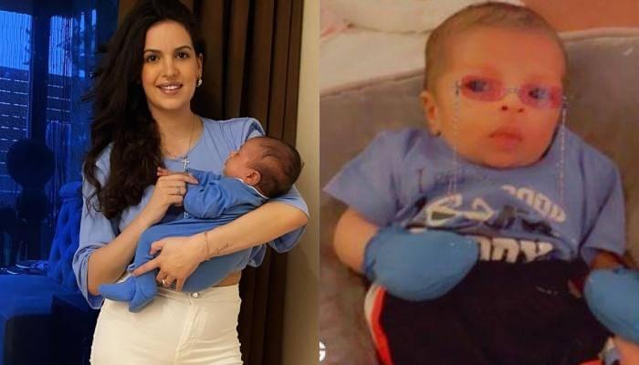 नताशा स्टेनकोविच ने शेयर किया बेटे का पालने में खेलते हुए क्यूट वीडियो, लिखा- 'लव ऑफ माय लाइफ'