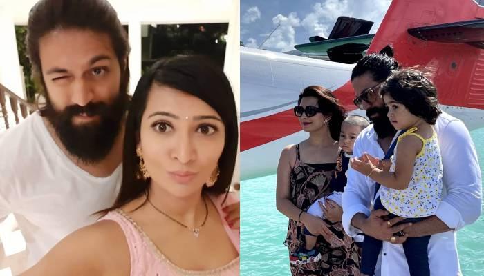 'केजीएफ' स्टार यश पत्नी राधिका पंडित और बच्चों संग मालदीव में कर रहे एंजॉय, देखें खूबसूरत तस्वीरें