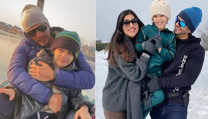 अर्जुन बिजलानी ने बेटे अयान के बर्थडे पर श्रीनगर से शेयर कीं प्यारी तस्वीरें, बर्फ से खेलते आए नजर
