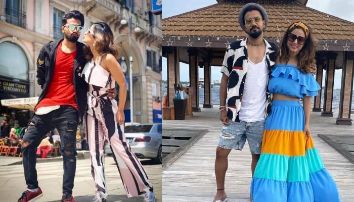 गर्लफ्रेंड हिना खान के लिए रॉकी जायसवाल ने लिखी रोमांटिक शायरी, शेयर की वेकेशन की फोटो