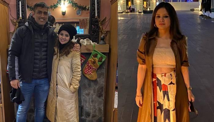 साक्षी धोनी ने शेयर की पति एमएस धोनी साथ शादी के पहले की फोटो, लिखा- 'फ्लैशबैक'