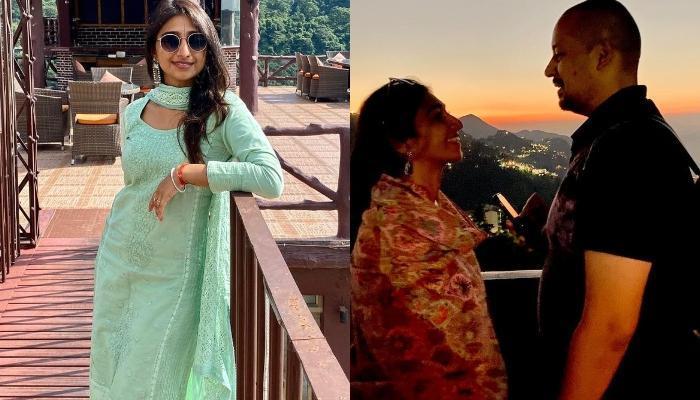 मोहिना कुमारी सिंह पति सुयश रावत संग हुईं रोमांटिक, प्राॅमिस डे पर शेयर की खास फोटो