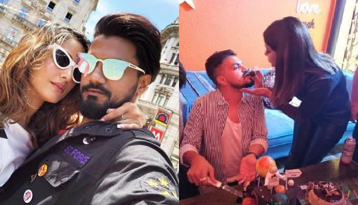 हिना खान ने खास अंदाज में मनाया बॉयफ्रेंड रॉकी जायसवाल का बर्थडे, केक खिलाती आईं नजर