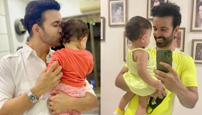 बहुत खूबसूरत है आमिर अली की बेटी आयरा, एक्टर ने पहली फुल फोटो शेयर कर दिखाया चेहरा