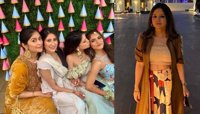महेंद्र सिंह धोनी की पत्नी साक्षी अपने दोस्त की शादी में हुईं शामिल, देखें सेलिब्रेशन की तस्वीरें