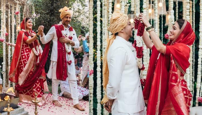 शादी के बाद दीया मिर्जा ने फ्लॉन्ट की अपनी इंगेजमेंट की डायमंड रिंग, देखें फोटोज