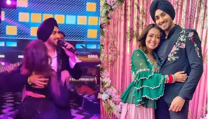 बेबी को गोद में लेकर नेहा कक्कड़ और रोहनप्रीत सिंह ने दोस्त की शादी में किया डांस, देखें वीडियोज