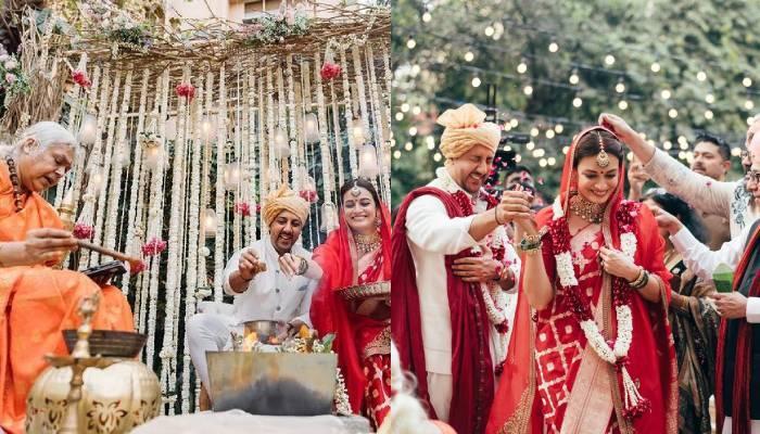 दीया मिर्जा ने 'कन्यादान' और 'विदाई' को कहा 'ना', इसलिए महिला पुजारी से पढ़वाए अपनी शादी के मंत्र