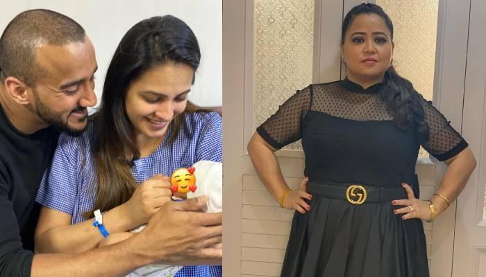 अनिता हस्सनंदनी और रोहित रेड्डी ने अपने बेटे के नाम का किया खुलासा, भारती सिंह ने दिखाई झलक