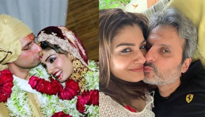रवीना टंडन अपनी 17वीं मैरिज एनिवर्सरी पर हुईं रोमांटिक, पति अनिल थडानी संग शेयर कीं तस्वीरें