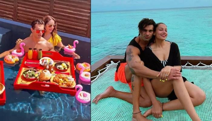 करण सिंह ग्रोवर ने वाइफ बिपाशा बसु संग मालदीव में मनाया अपना बर्थडे, देखें कपल की रोमांटिक तस्वीरें