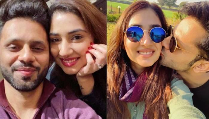 राहुल वैद्य ने गर्लफ्रेंड दिशा परमार संग शेयर कीं रोमांटिक फोटाज, किस करते दिखे सिंगर