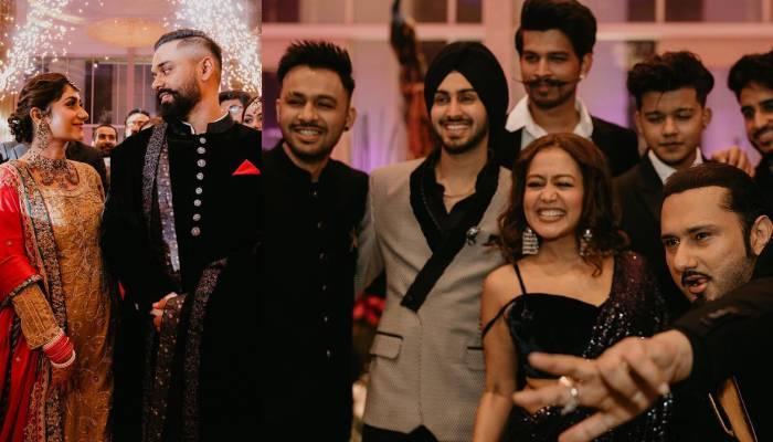 हनी सिंह ने शेयर कीं बहन स्नेहा के वेडिंग रिसेप्शन की फोटोज, नेहा कक्कड़ और रोहनप्रीत ने जमाई महफिल
