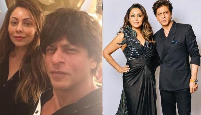 शाहरुख खान संग पत्नी गौरी ने शेयर की थ्रोबैक फोटो, 'लंदन प्रीमियर' में कहर ढा रहा कपल