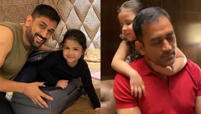 जब अपनी लाडली बेटी जीवा को भीड़ से बचाते दिखे थे महेंद्र सिंह धोनी, देखें पिता-पुत्री की क्यूट फोटो