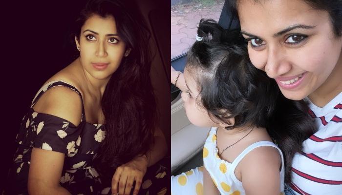 अंकिता भार्गव को बेटी मेहर ने दी लव बाइट, एक्ट्रेस ने फोटो शेयर कर दिखाई झलक