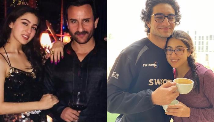 भाई इब्राहिम के बर्थडे बैश में अब्बू सैफ के साथ एन्जॉय करती नजर आईं सारा अली खान, शेयर कीं फोटोज