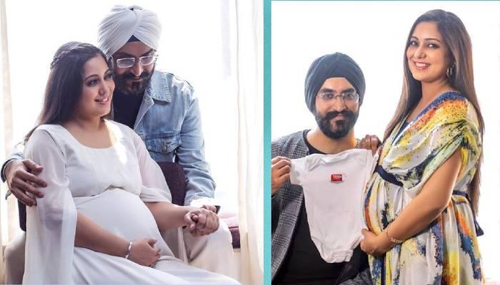 सिंगर हर्षदीप कौर ने शेयर की अपने बेटे की पहली झलक, बेबी बॉय को प्यार करते दिखा कपल