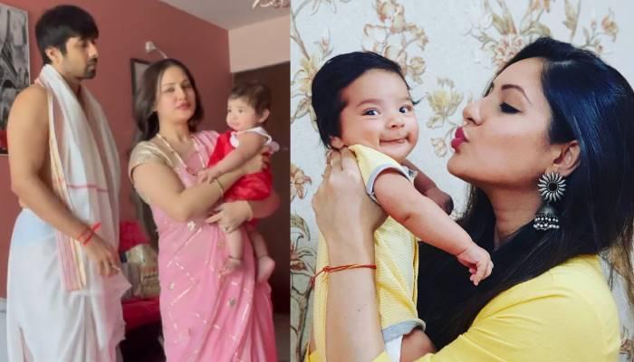 पूजा बनर्जी ने बंगाली रीति-रिवाज से करवाया बेटे कृशिव का अन्नप्राशन, पति कुणाल ने शेयर किया वीडियो