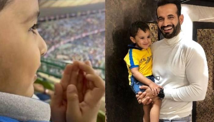 इरफान पठान की जीत के लिए दुआ मांगते नजर आए बेटे इमरान, क्रिकेटर ने शेयर किया वीडियो