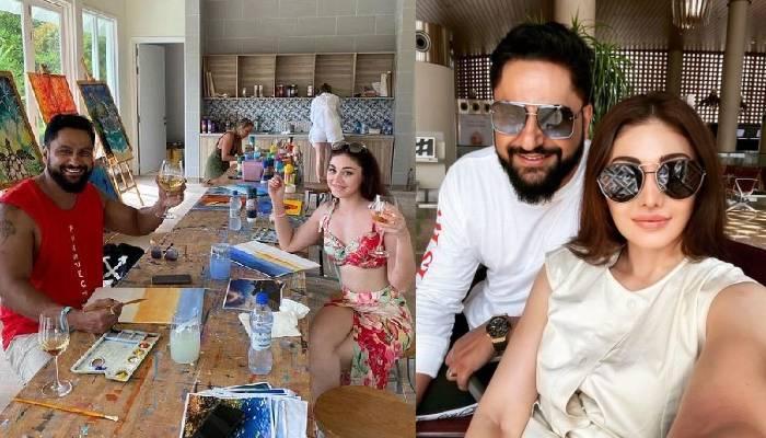 'कांटा लगा' फेम शेफाली जरीवाला पति पराग त्यागी संग पहुंची मालदीव, हॉट तस्वीरें आईं सामने