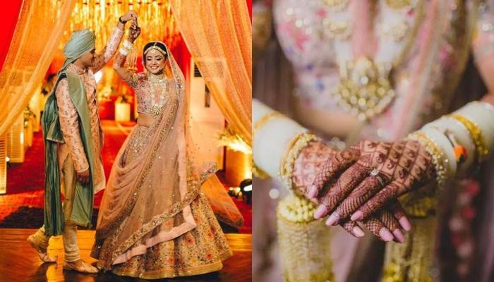 सब्यसाची की इस दुल्हन ने शादी में लहंगे के साथ पहना था हाथी के दांत से बना सफेद चूड़ा, देखें फोटोज