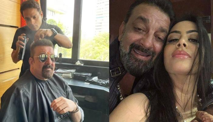 संजय दत्त ने शेयर की अपने न्यू हेयरकट की तस्वीर, तो बेटी त्रिशाला ने दिया ये रिएक्शन