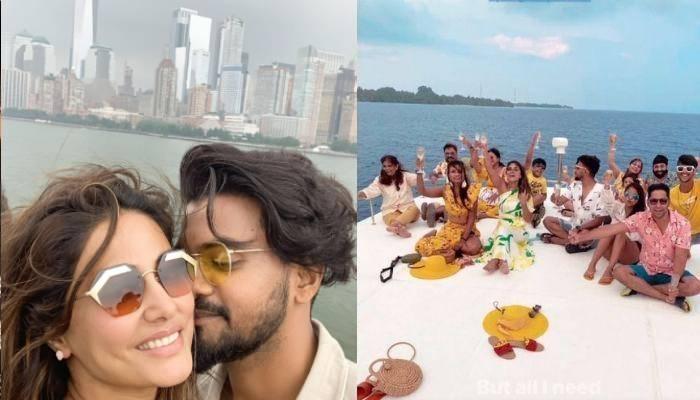हिना खान बॉयफ्रेंड रॉकी जायसवाल और फैमिली संग मालदीव में करती दिखीं पार्टी, तस्वीरों में देखें नजारा