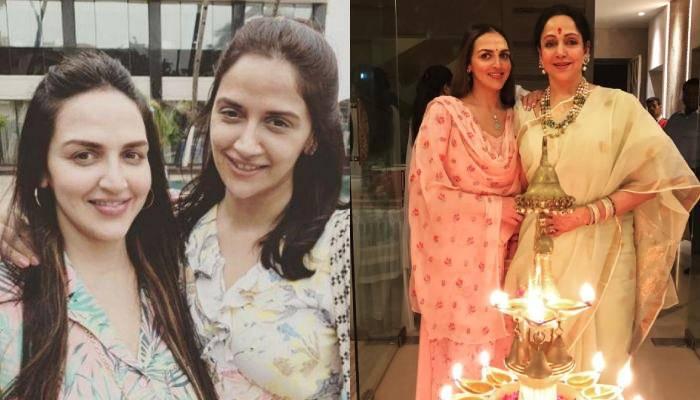 ईशा देआल ने बहन अहाना संग शेयर कीं फोटोज, सेम ड्रेस पहने जुड़वा लग रहीं दोनों बहनें