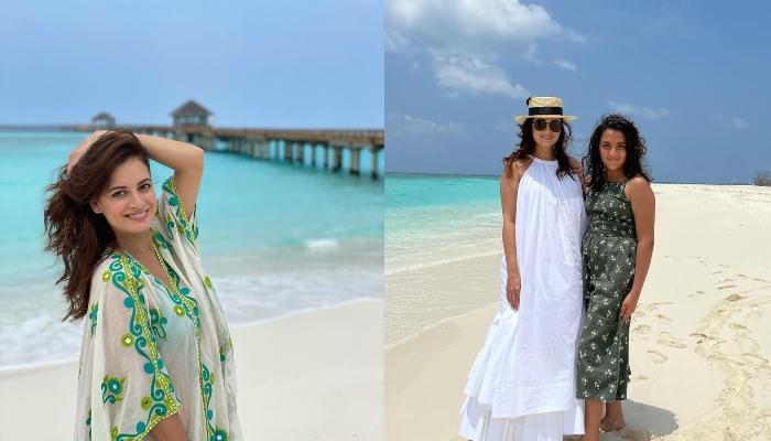 सौतेली बेटी समायरा संग मालदीव के समुद्र में मस्ती करती दिखीं दीया मिर्जा, देखें तस्वीरें