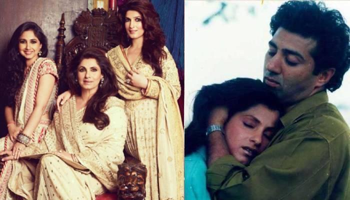 कभी सनी देओल को 'छोटे पापा' कहती थीं डिंपल कपाड़िया की दोनों बेटियां, ऐसा था रिश्ता
