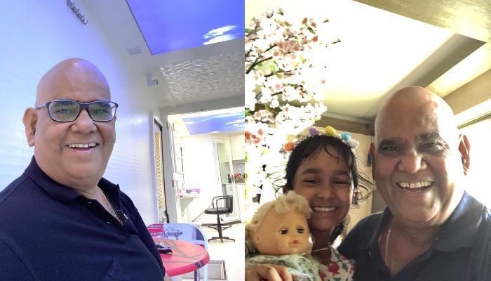 सतीश कौशिक ने बेटी वंशिका संग शेयर की तस्वीर, कहा, 'हम कोविड से रिकवर हो रहे हैं'