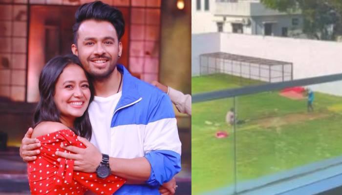 नेहा कक्कड़ भाई टोनी के लिए घर पर बनवा रहीं क्रिकेट पिच, वीडियो शेयर कर पूछा गिफ्ट कैसा है?