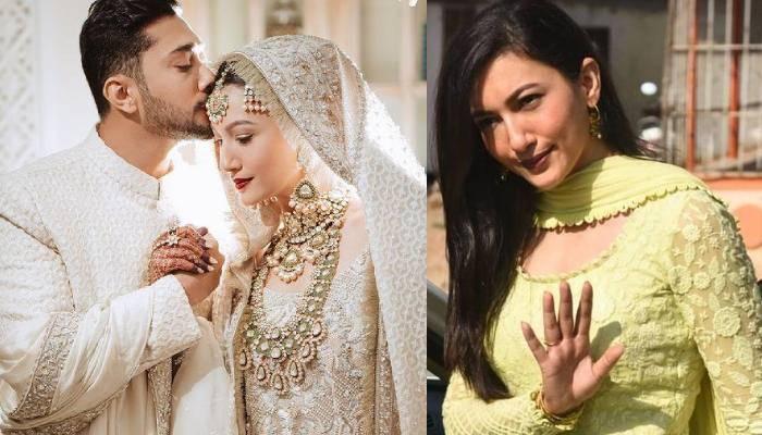 पति जैद दरबार के नाम की अंगूठी पहनती हैं गौहर खान, यहां देखें तस्वीर