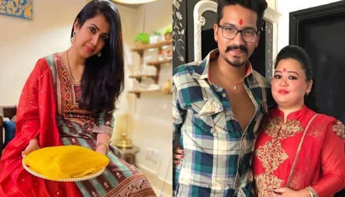 अंकिता भार्गव से भारती सिंह तक इन 11 टीवी एक्ट्रेसेस ने रोका सेरेमनी में सिंपल लुक से बिखेरे जलवे